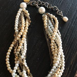 Erickson Beamon for Draper James Pearl Necklace
